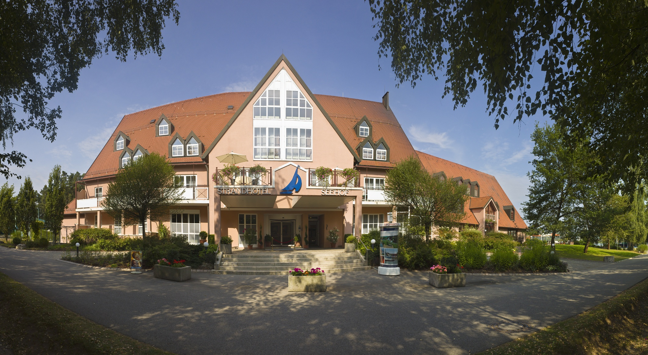 Brombachsee Hotel Direkt Am See