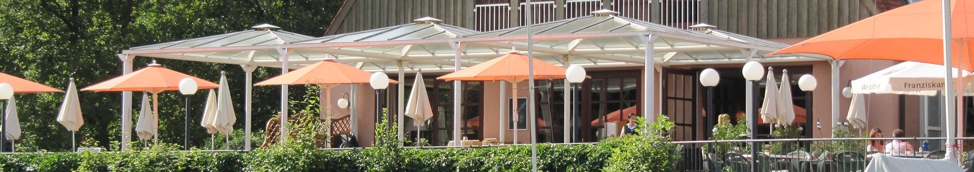 Terrasse Aktivresort Strandhotel Seehof