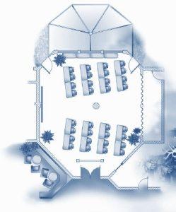 Festsaal Tagung Raumskizze
