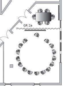 Tagungsraum 2, Raumskizze