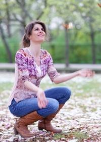 Martina Berger, Yogalehrerin