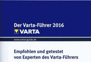 Empfehlung Varta-Führer Strandhotel Seehof