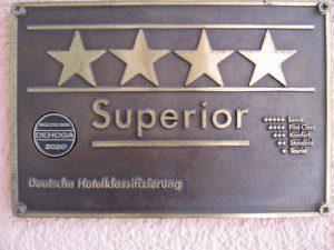 Deutsch Hotelklassifizierung