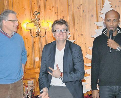 Thorsten Bär, Berhane Berhane und Oliver Röhrl