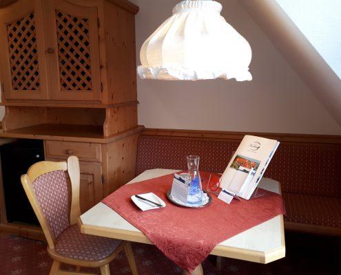 Zimmer Classic - Sitzecke Aktivresort Strandhotel Seehof