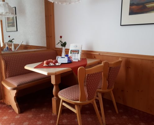 Sitzecke Suite Aktivresort Strandhotel Seehof