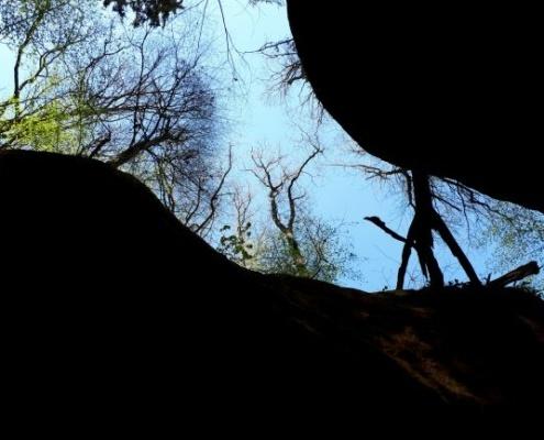 Aus der Schlucht Schnittlinger Loch