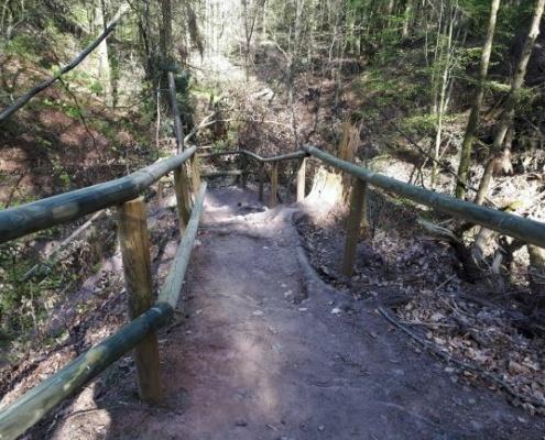 Weg zum Schnittlinger Loch